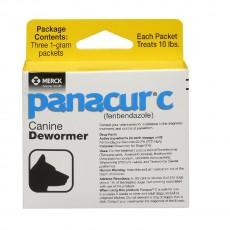 Panacur C, 파나쿠어 C, 펜벤다졸 1 g, 3 packets