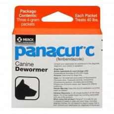 Panacur C, 파나쿠어 C, 펜벤다졸 4 g, 3 packets