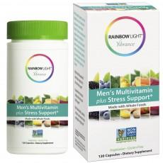 레인보우 라이트, 남성용 종합비타민 + 스트레스 보조제, 120 캡슐