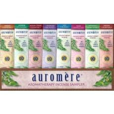 Auromere, 아로마 테라피 향 샘플 팩, 8 pc