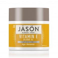 제이슨, 비타민 E 25,000 I.U. 수분크림, 4 oz (113 g)