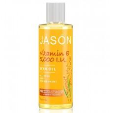 제이슨, 비타민 E 5,000 I.U. 오일, 4 fl oz (118 ml)