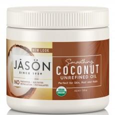 제이슨, 부드러운 비정제 코코넛 오일, 15 fl oz (443 ml)
