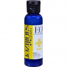 EO Products, 핸드 새니타이져 ,Hand Sanitizer, Organic Lemon, 2 fl oz (60 ml)