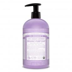 닥터브로너스, 유기농 4-in-1 펌프 슈가솝 대용량, 24 oz (710 ml)