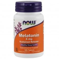 나우 Now, 멜라토닌 5 mg, 120 타블렛