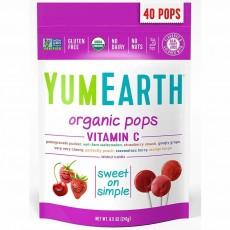 YumEarth USDA ORGANIC 인증, 비타민 C 과일맛 모음, 40 개