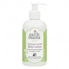 Earth Mama, Baby, 카밍 라벤다 베이비 로션, 라벤다 바닐라 8 fl oz (240 ml)