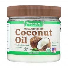 릴리오브데저트, 유기농 버진 코코넛 오일, 24 fl oz (680.4 g)