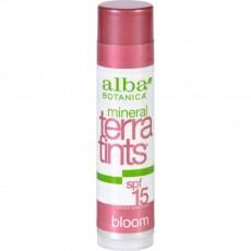 알바 보타니카, 테라 틴트 립밤 SPF 15, Bloom, 0.15 oz (4.2 g)