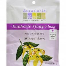 아우라카시아, 미네랄 배쓰 Euphoric Ylang Ylang, 2.5 oz (70.9 g)