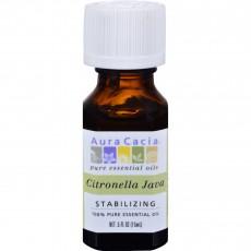 아우라카시아, 에센셜 오일 (시트로넬라), .5 fl oz (15 ml)
