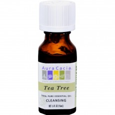 아우라카시아, 에센셜 오일 Cleansing (티트리), 0.5 fl oz (15 ml)