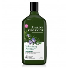 아발론 오가닉스, 로즈마리 볼류마이징 샴푸, 11 fl oz (325 ml)