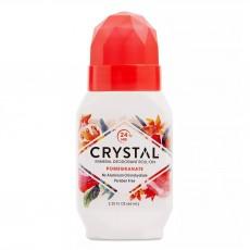 크리스탈 에센스, 천연 롤온 데오도란트, 석류, 2.25 fl oz (66 ml)