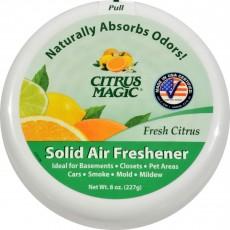 시트러스매직, 솔리드 에어 프레셔너 (Fresh Citrus Scent), 8 oz (227 g), 1 Air Freshener