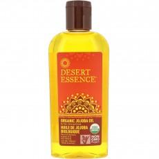 데져트 에센스, 유기농 모발, 피부 & 두피를 위한 호호바 오일, 4 fl oz (118 ml)