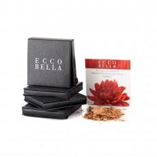 에코벨라 페이퍼백 플라워컬러 페이스 파우더 0.38 oz (11 g) [4가지 컬러] -탈크 프리-