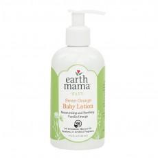 Earth Mama Angel Baby, 스위트 오렌지 베이비 로션, 바닐라 오렌지, 8 fl oz (240 ml)