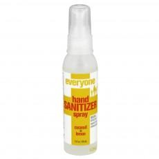 EO Products, 핸드 스프레이형 새니타이저 [코코넛+ 레몬], 2 oz (60 ml)