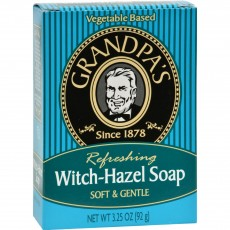 Grandpa's, 천연 위치헤즐 비누, 3.25 oz (92 g)
