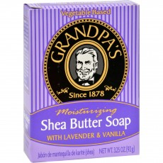 Grandpa's, 천연 시어 버터, 비누, 3.25 oz (92 g)