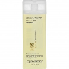 지오바니, 골든 윗 샴푸 Golden Wheat Deep Cleanse Shampoo, 8.5 fl oz (250 ml)