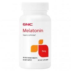 GNC, 멜라토닌 5 mg, 60정