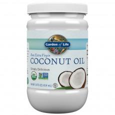 가든오브라이프, 엑스트라버진 코코넛 오일, 14 fl oz (414 ml)