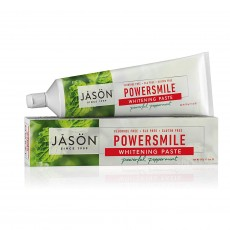 제이슨, 파워 스마일 화이트닝 치약 파워풀 페퍼민트, 6 oz (170 g)