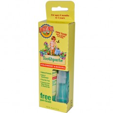 Earth's Best 유아용 치약 [딸기, 바나나맛] Toddler Toothpaste, 1.6 oz