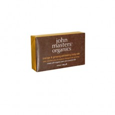 존 마스터스 오가닉, 오렌지 & 진생 엑스폴리에이팅 바디 바, 4.5 oz (128 g)