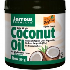 자로우 포뮬라, 엑스트라 버진 코코넛 오일, 16 oz (454 g)