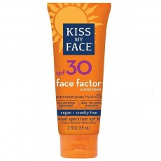 키스 마이 페이스, 페이스팩터, SPF30 얼굴&목, 2oz (59 ml)