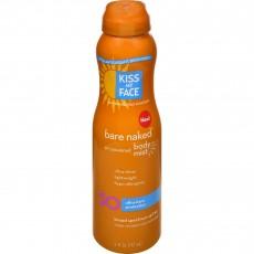 키스 마이 페이스, Bare Naked 바디 미스트 SPF 30, 6 fl oz (177 ml)