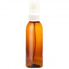 휴대용 미스트 용기 스프레이 포함 Amber, 60 ml