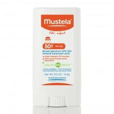무스텔라, 브로드 스펙트럼 SPF 50+ 미네랄 썬스크린 스틱, 0.5 oz (14.2 g)