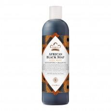 누비안 헤리티지, 아프리칸 블랙 솝, 천연 바디워시, 13 oz (384 ml)