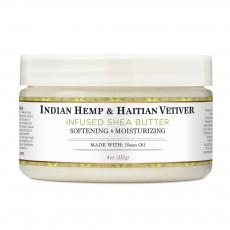 누비안 헤리티지, 인디안 햄프 & 하이타이안, 베티버 시어 버터, 4 oz (114 g)