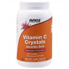 나우 Now, 비타민 C 결정, 3 lb. (1361 g)