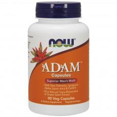 나우 Now, ADAM ™ Superior 남성 복합 비타민, 90 식물성 캡슐