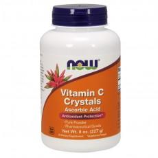 나우 Now, 비타민 C, 크리스탈, 8 oz (227 g)