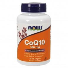 나우 Now, 코엔자임큐텐 100 mg, 150 Softgels