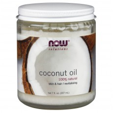 나우 Now, 100% 천연 코코넛 오일, 7 oz (207 ml), (스킨/헤어)