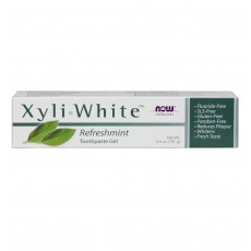 나우 Now, 자일리화이트 젤 치약, 리프레쉬 민트, 6.4 oz (181 g)
