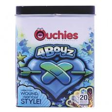 Ouchies Adhesive Bandages, 남자 어린이용 밴드, 20 개