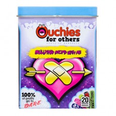 Ouchies Adhesive Bandages, Anti Bullyz, 20 개