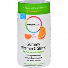 레인보우 라이트, 씹어먹는 귤 젤리 비타민 C, 90 구미