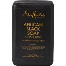 시어 모이스처, 아프리칸 블랙 솝 (여드름, 트러블 피부), 8 oz (230 g)
