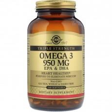 솔가, 오메가 3 EPA & DHA, 950 mg, 100 Softgels